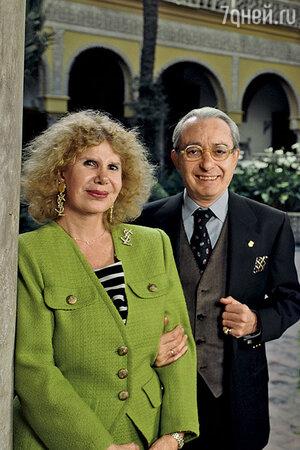 Герцогиня Альба с мужем