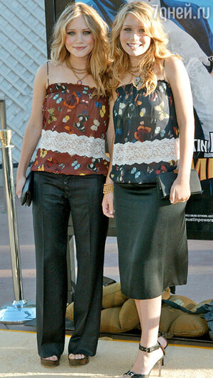 Мэри Кейт и Эшли  Олсен. 2006 г.