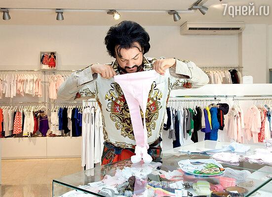 В бутик детской одежды поступила новая коллекция