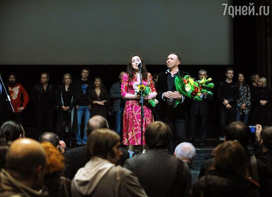 Сценарист Наталья Павловская и Гарик Сукачев