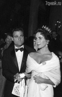 Элизабет Тейлор и Майкл Тоддом, 1967 г.