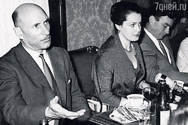 Сергей Герасимов, Элина Быстрицкая и Петр Глебов