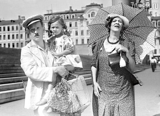 Фильм «Подкидыш» принес Раневской всенародную славу. 1939 г.