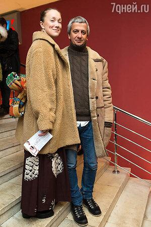 Дарья Мороз с супругом
