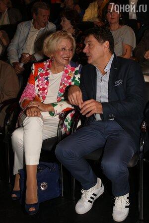 Людмила Максакова и Сергей Маковецкий