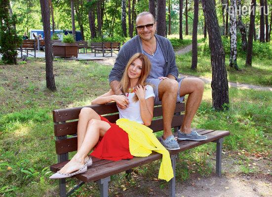 Владимир Пресняков и Наталья Подольская привезли хорошую погоду