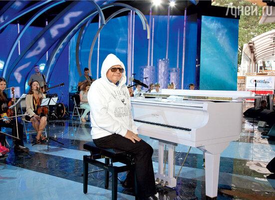 Юрий Антонов на репетициях старался утеплиться, чтобы сберечь голос