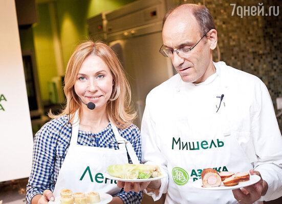 Елена Усанова и Мишель Шёвэ