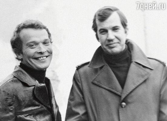С Георгием Бурковым. 1979 г.
