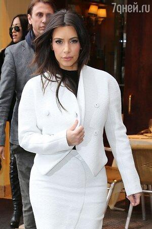 Ким Кардашьян в Нью-Йорке