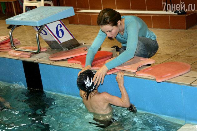 Екатерина Гусева с сыном