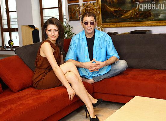 Григорий Лепс с дочерью от первого брака Ингой