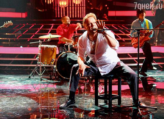 Я всегда работал в своем жанре, не соревновался ни с рок-певцами, ни с театралами…  Алексей Кортнев в роли Гарика Сукачева на шоу «Один в один»