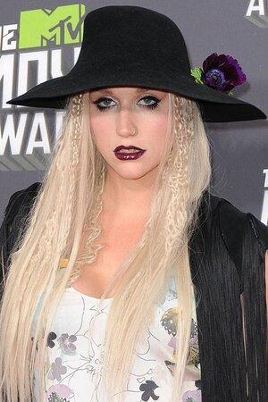 Певица Кеша (Kesha) на церемонии MTV Movie Awards 2013