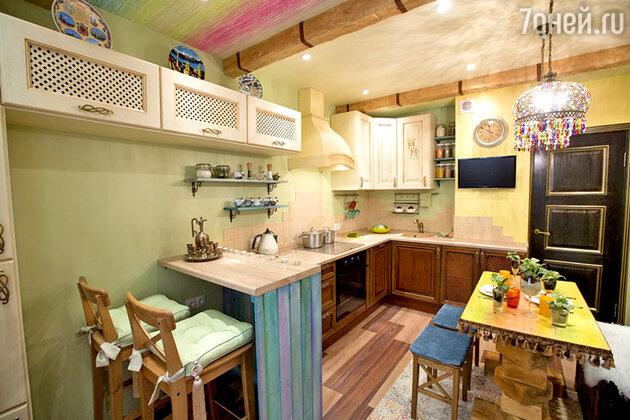 Кухня в стиле бохо-шик