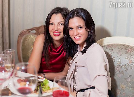 Алиса Толкачева и Ирина Антоненко