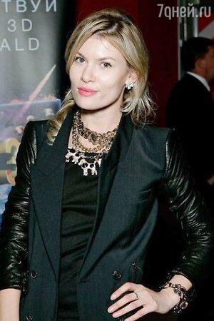 Анна Скиданова на премьере картины «Трансформеры: Эпоха истребления»