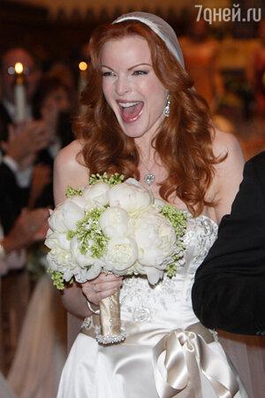 Марсия Кросс свадьба