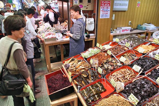Японский продуктовый рынок