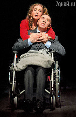 Последняя роль Валеры. Золотухин и Ирина Линдт в спектакле Кшиштофа Занусси «Король умирает»