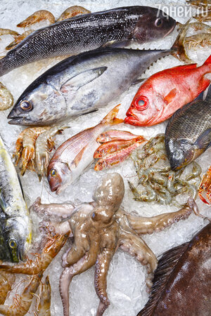 Ракам, Скорпионам и Рыбам — представителям водной стихии — стоит включать в рацион рыбу и прочие дары моря