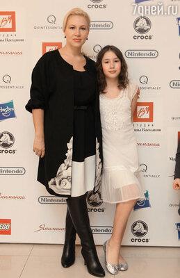 Екатерина Одинцова с дочерью