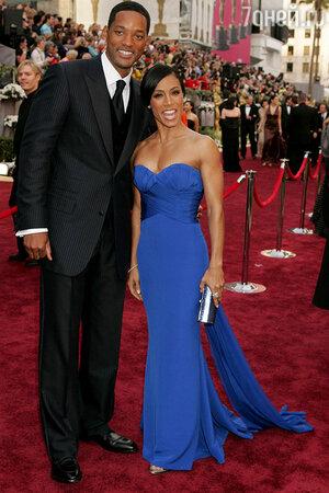 Уилл Смит с женой