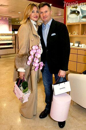 Алексей Немов с женой Галиной
