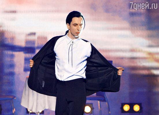 Михаил Зеленский в роли Джона Траволты