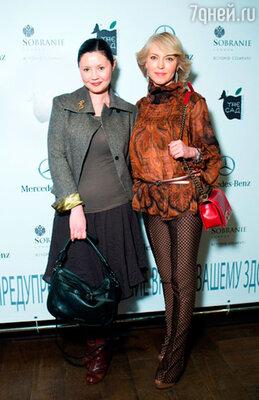 Екатерина Двигубская и Дарья Михалкова