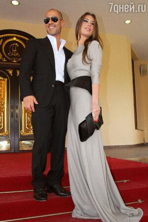 Кети Топурия с мужем Львом Гейхманом