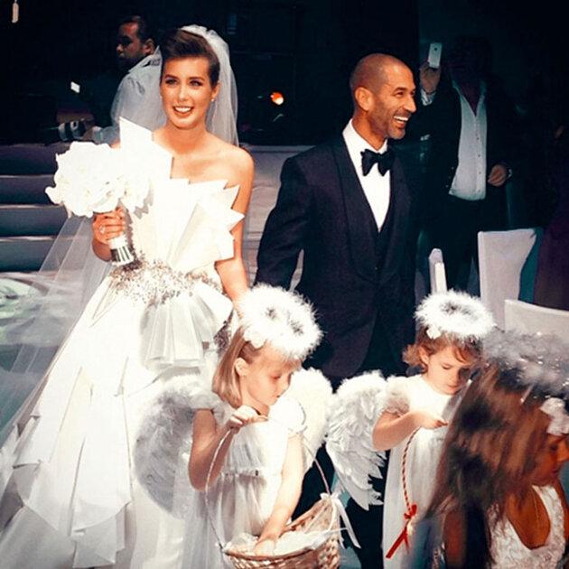 Кети выходила замуж в свой день рождения, 9 сентября