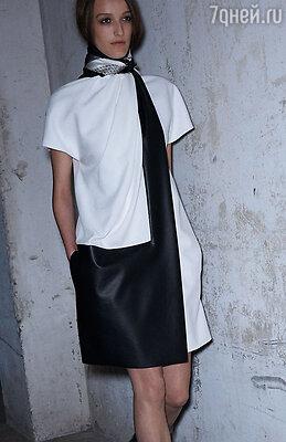 «Контраст черного и белого» — одежда самых разных фасонов и фактур
