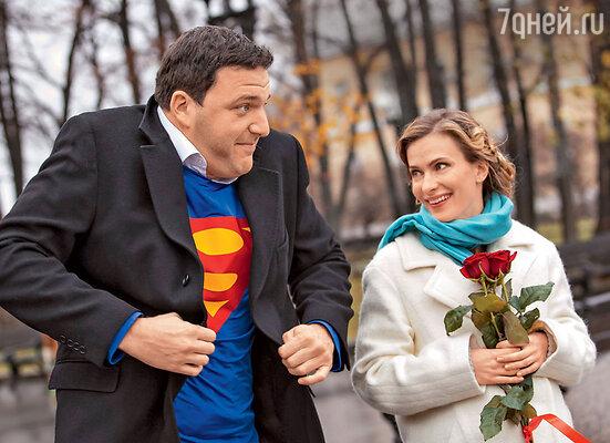 «В Минске я снималась в романтической комедии, где мы с Максимом Виторганом сыграли очень смешную пару»