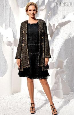 Бесподобная Ума Турман напоказе «Chanel»
