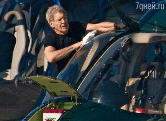 Харрисону Форду любой летательный аппарат по плечу