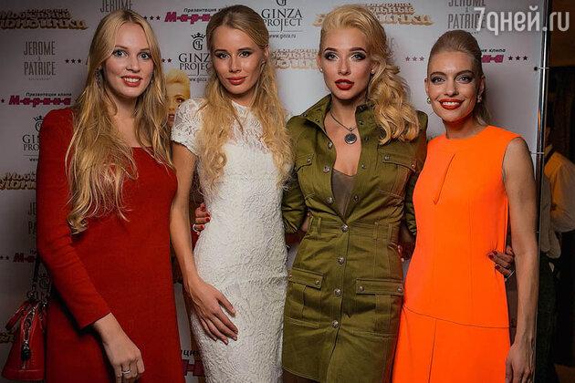 Группа «Мобильные блондинки»: Олеся Бословяк, Евгения Франк, Света Степанковская и Антонина Клименко