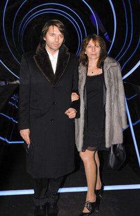 Николай Усков с женой
