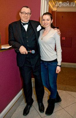 Андрей Ургант с женой Еленой