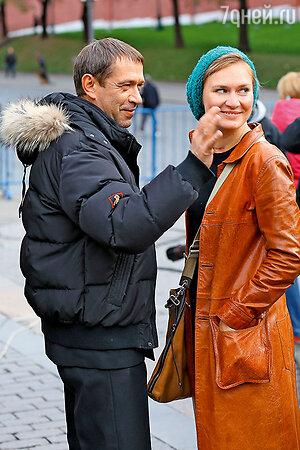 Владимир Машков с дочерью Марией