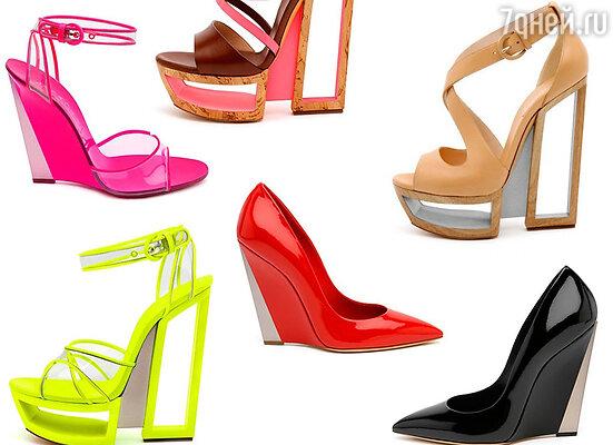 Мои тренды – это, конечно же, туфли на широком каблуке – тот вид обуви, который всегда будет актуален благодаря своей универсальности