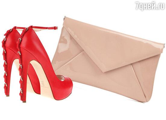 Вы можете подобрать сумку в тон с шарфом или головным убором, а обувь, например, в тон верхней одежды (куртка, полупальто)