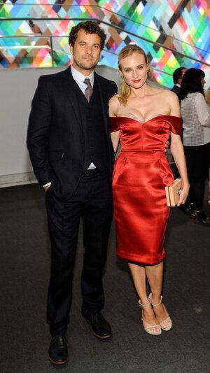 Диана Крюгер и Джошуа Джексон  на Hammer Museum Gala 2013