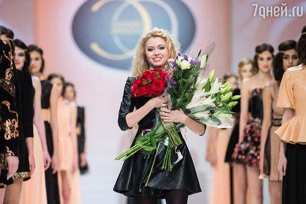 Элеонора Амосова на показе