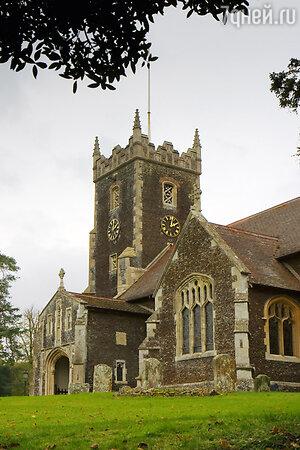 Крещение принцессы Шарлотты состоялось в графстве Норфолк в церкви Святой Марии Магдалины