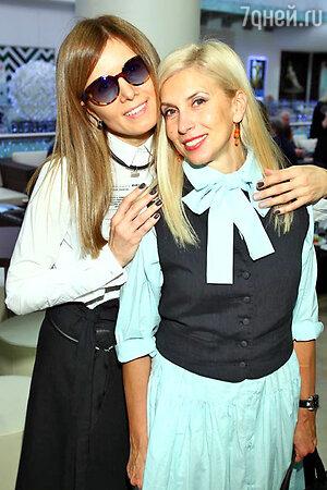 Главный редактор журнала Мария Дэмченко и Алена Свиридова