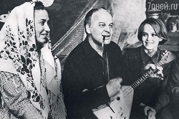 Станислав Ростоцкий и Ирина Шевчук