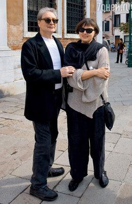 Вениамин Смехов с женой Галиной