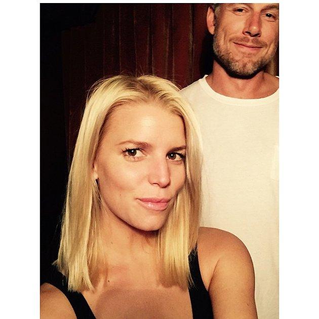 Джессика Симпсон с мужем
