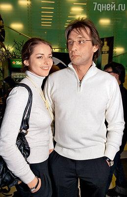 Марина Александрова с бывшим возлюбленным Александром Домогаровым и...